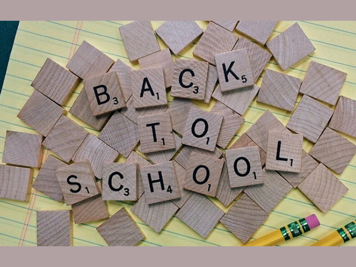 Back to school μετά τις διακοπές, επιστροφή στο σχολείο.